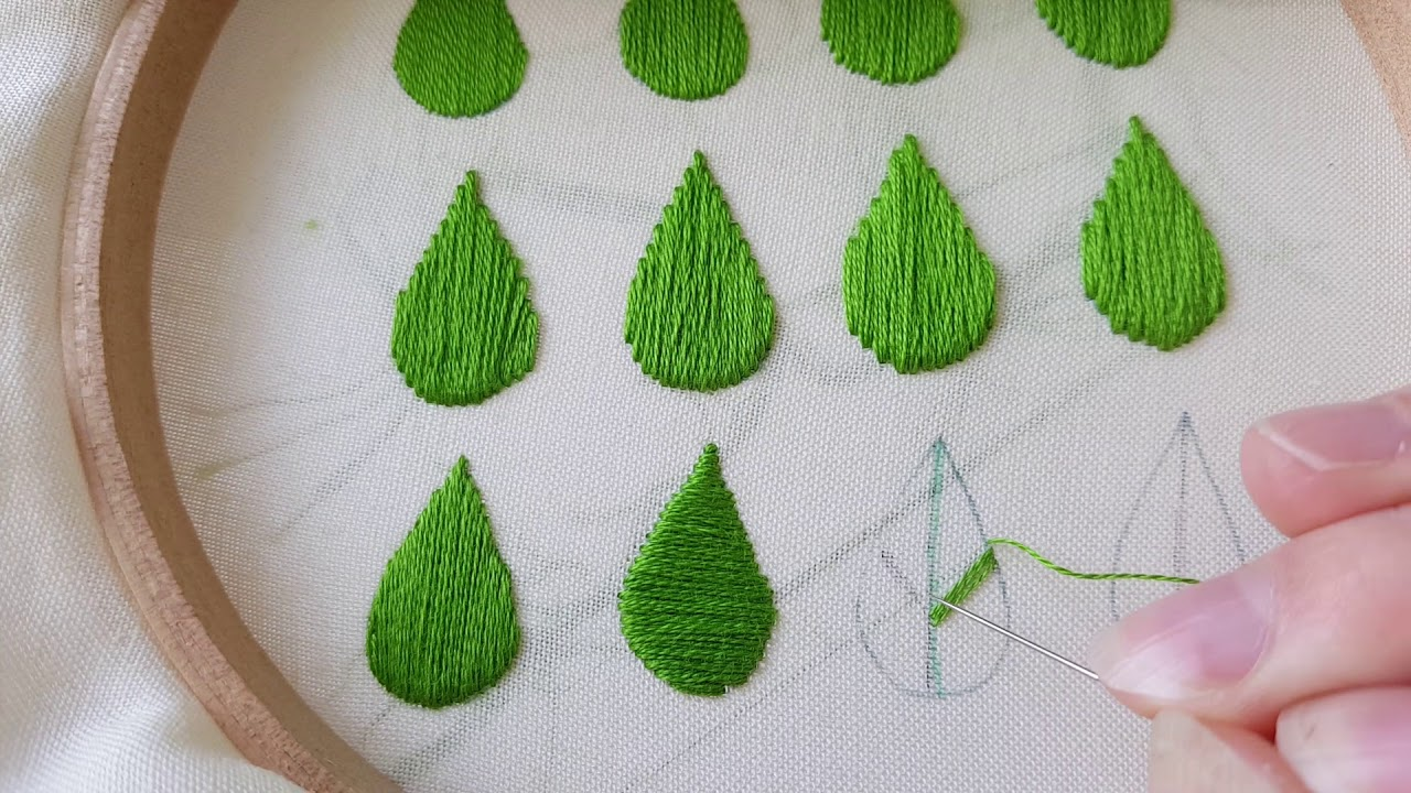 How To Do Satin Stitch The Basics And Some Variations Youtube