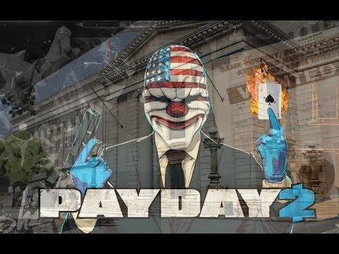 PAYDAY 2: Big Bank Гонял по по банку на невидимой машине...