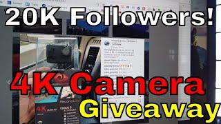 4K Action Camera Giveaway