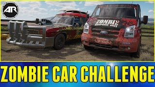 Forza Horizon 3 Online : WALKING DEAD CAR CHALLENGE!!! (Zombie Survival Cars)