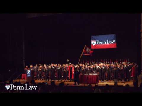 2016 Penn Law Commencement Ceremony