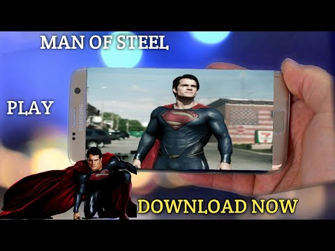 Download Man Of Steel Game Free On Android Devise Mod Apk+data