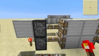Механизмы №1 [Уроки по Minecraft]