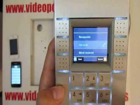 Videoportero inalambrico conteste en su celular wifi doovi - Video portero inalambrico ...