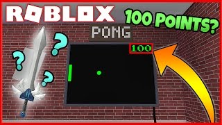 MYSTERY IN ROBLOX ASSASSIN! | WHAT HAPPENS IF YOU GET 100 POINTS IN PONG?!