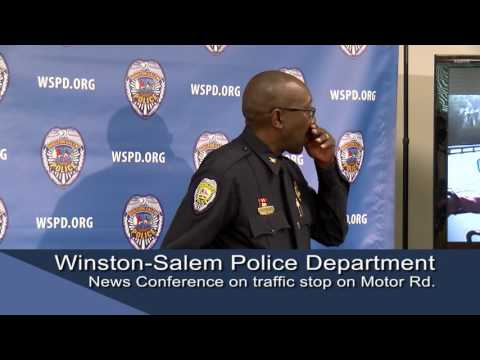 Winston-Salem Police Department News Conference