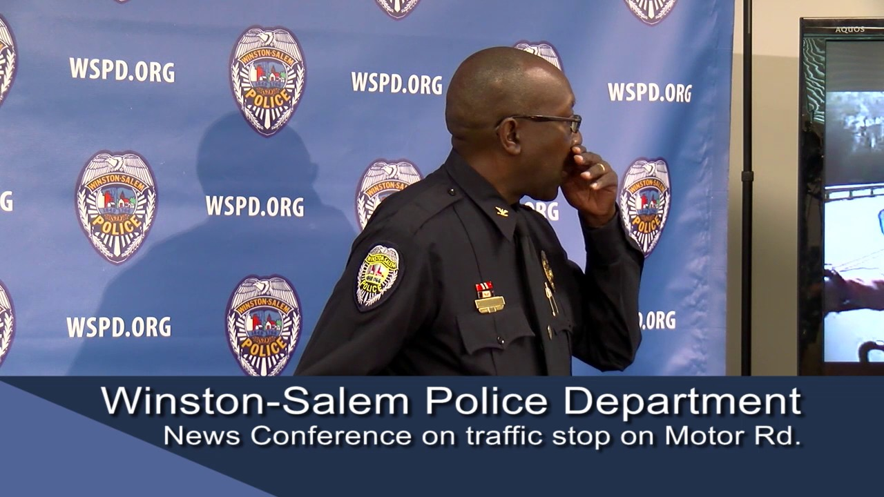 winston-salem police department news conference