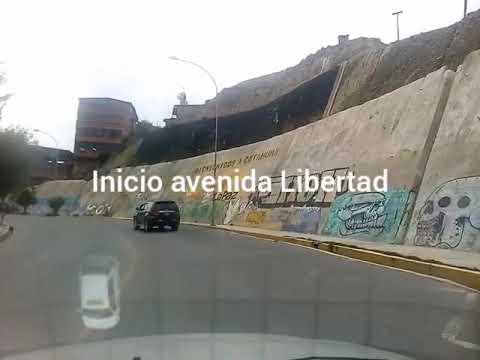 AVENIDA LIBERTAD. ZONA