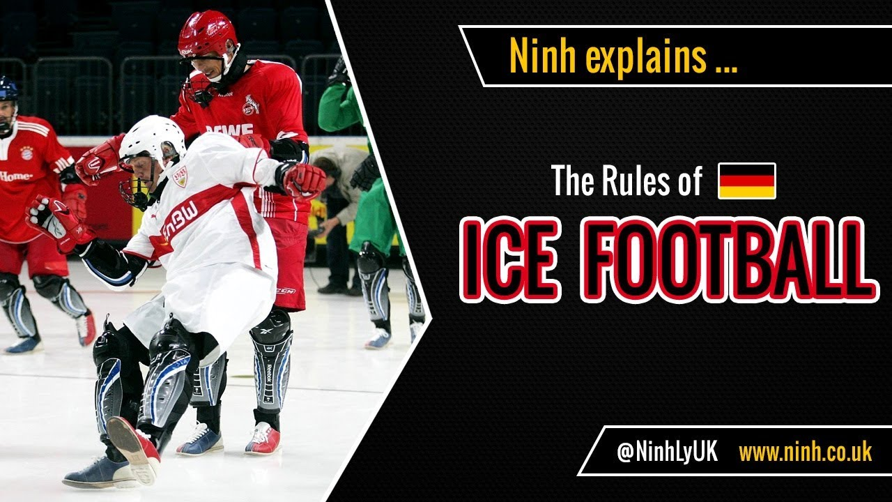 The Rules of Ice Football - EXPLAINED! (Funniest sport ever!)