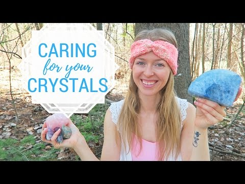 How to CLEAR & CHARGE Your CRYSTALS