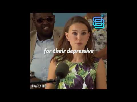 Develop yourself – Natalie Portman speech