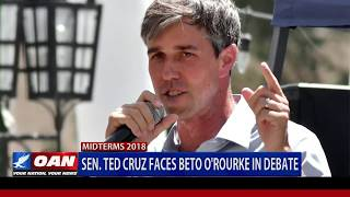 Sen. Ted Cruz faces Rep. Beto O'Rourke in debate