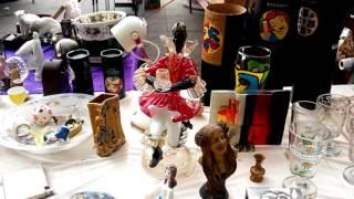 Мини блошиный рынок в Вене | Mini flea market in Vienna.