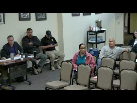 CBC Monthly Meeting April 2017