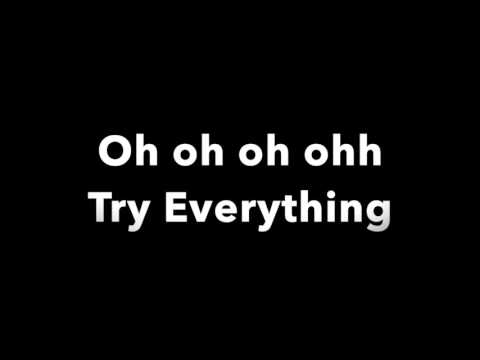 Try Everything - Shakira - Lyrics | From Zootopia