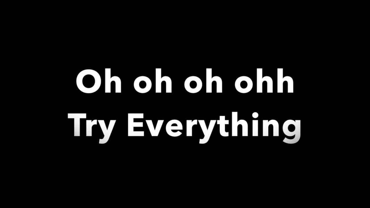Try Everything - Shakira - Lyrics | From Zootopia