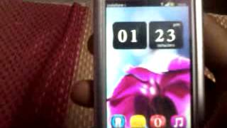 nokia 5233 full loaded with android, belle, belle mod and c6 firmware.mp4