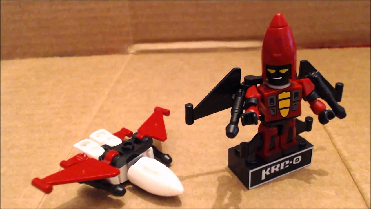 Chuck Builds Transformers Kreo Micro Change Thrust and Ramjet