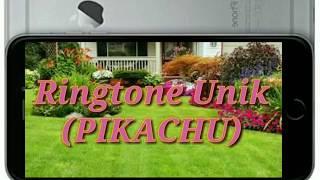 Ringtone wa unik || nada dering || pikachu || ringtone lucu