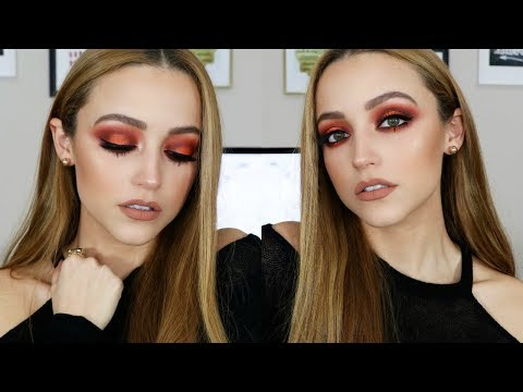Dramatic Fall Makeup Tutorial | Morphe 35O2 Palette