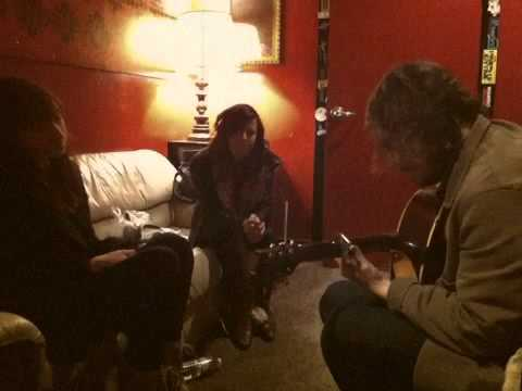 "Lucy Schwartz & The Civil Wars | ""Gone Away"" (backstage rehearsal)"
