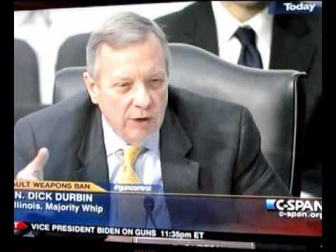 Congressional Meltdown: Sen. Durbin Attacks Witnesses on Gun Violence
