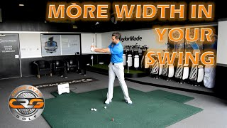 GOLF | GET MORE WIDTH IN YOUR SWING