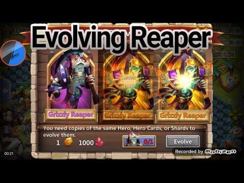 Castle Clash Evolving Grizzly Reaper