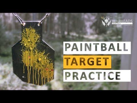 Paintball Target Practice | FS T15 & FSC | Art Paintball | Warheads Paintball