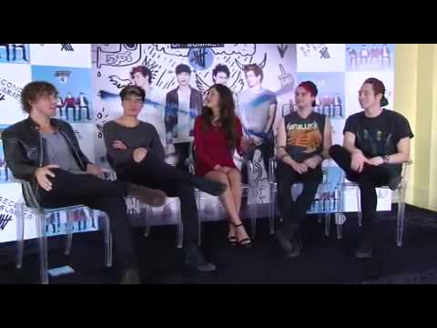 Gwen's Interview with 5SOS - Part 1
