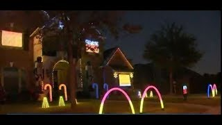 Astros holiday lights display is a huge hit in League City