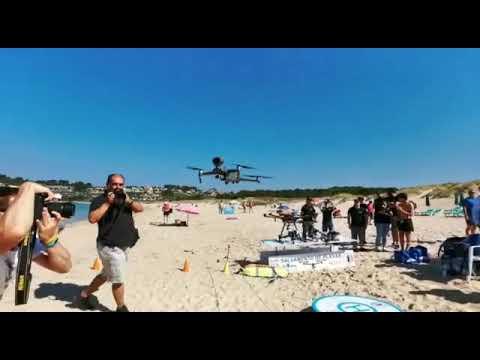 Los drones advertirán de los peligros a los bañistas de Sanxenxo