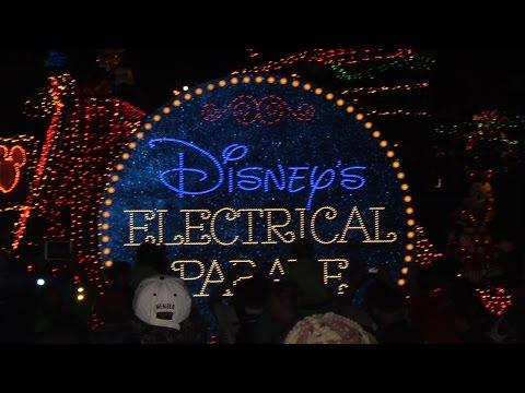 Walt Disney World   Electrical Light Parade 2015