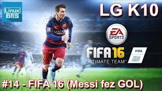 Gameplay Android - FIFA 16 - Messi marcou (para o meu time) - LG K10