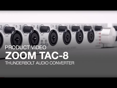 ZOOM TAC-8 Product Video