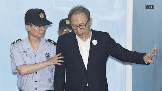 Former S. Korean President Lee Myung-bak sentenced to 15 years in prison