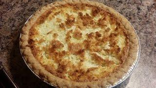 Sugary Crust Coconut Pie: Potluck Collaboration