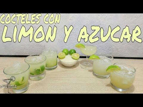 Cocteles con SÓLO  Limón y Azúcar/ Lime and Sugar Cocktails - Tragos y Cócteles/Cocktails & Shots