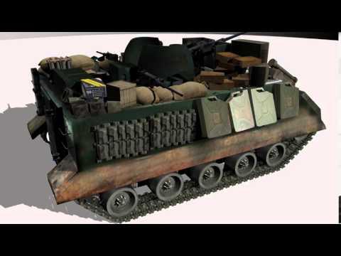 tanks m113 fire