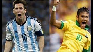 Argentina Vs Brazil | আর্জেন্টিনা বনাম ব্রাজিল এর মধ্যে তুমুল ঝগড়া | World Cup Football 2018