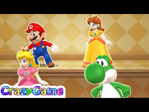 Mario Party 9 Step It Up #99 (Free for All Minigames)