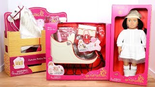 Our Generation Holiday Horse & Sleigh Doll Playset Review