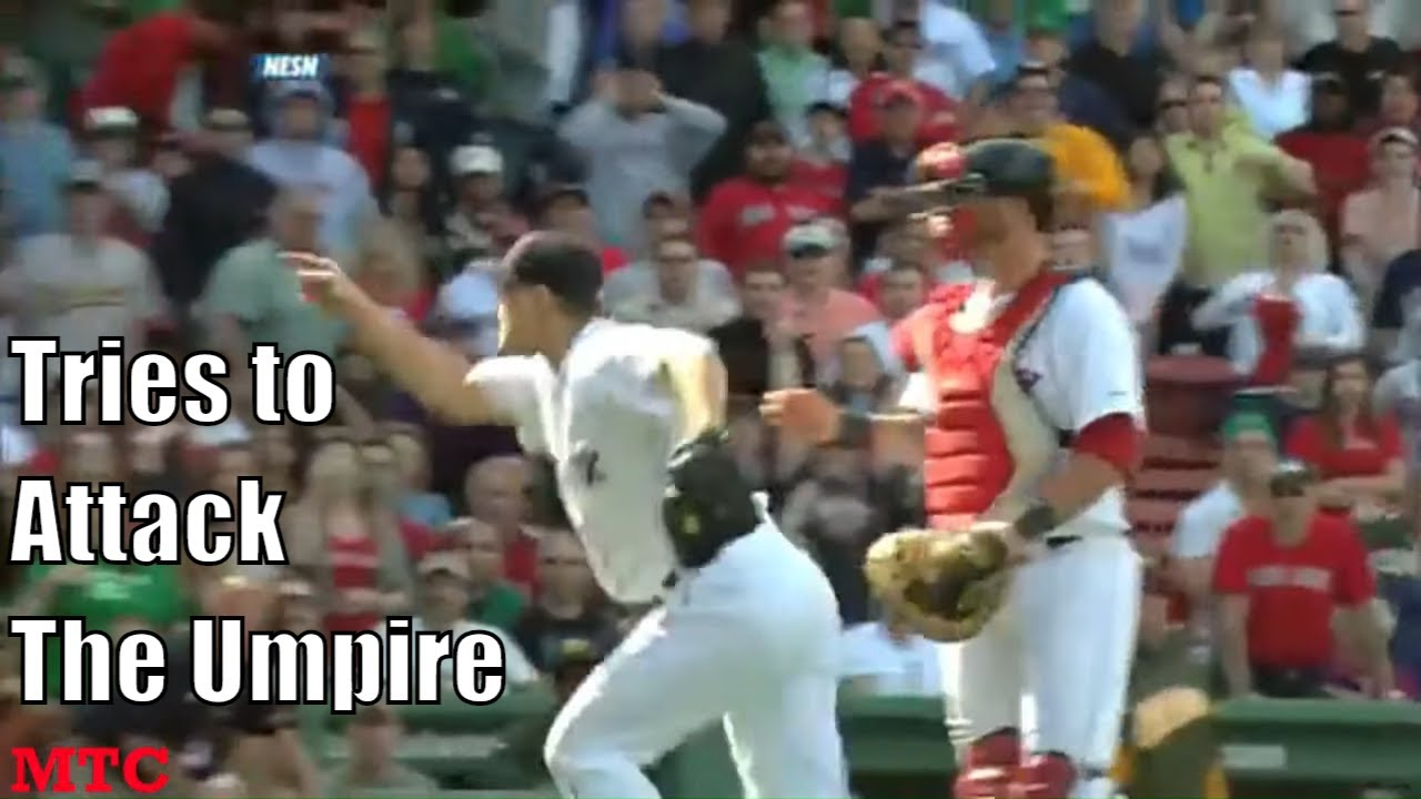 MLB Pitchers Getting Ejected Arguing Balls and Strikes Compilation