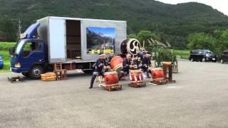 Study Abroad in Japan - 和太鼓 Wadaiko Drum Performance