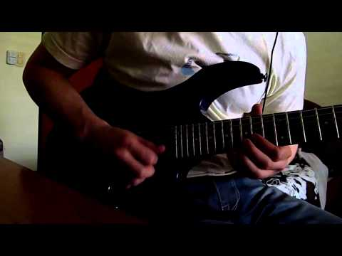 Eminem Sing for the Moment Guitar Solo Cover