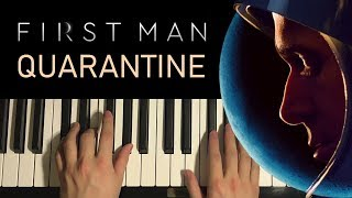 HOW TO PLAY - First Man - Quarantine (Piano Tutorial Lesson)