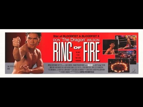 """Don """"The Dragon"""" Wilson : Ring of Fire (1991) - Trailer"""