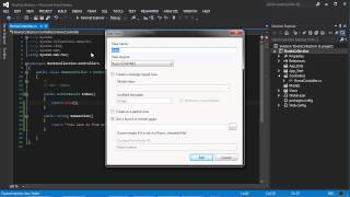 Part 3 : How to add a View to ASP.NET MVC 4