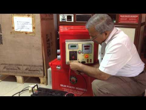 Solar Power Incubator part 1 Solar Egg Incubator India Low Cost