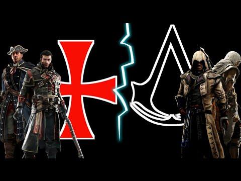 Assassins Creed VS Templars Order | Assassins Vs Templars | In HINDI |